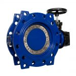 4 Double Flanged Butterfly Valve_Fig